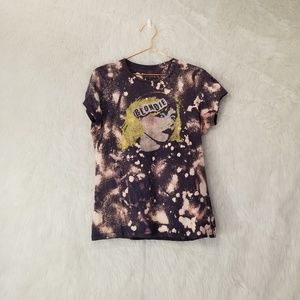 Blondie Distressed and Bleached Graphic T-Shirt